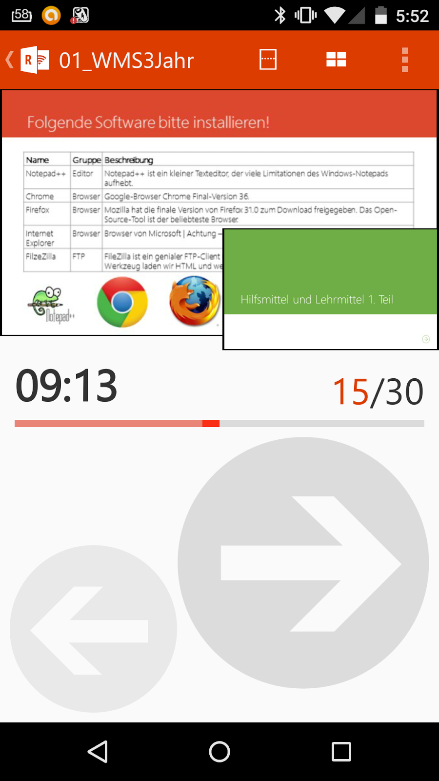 Office Remote Android Handy