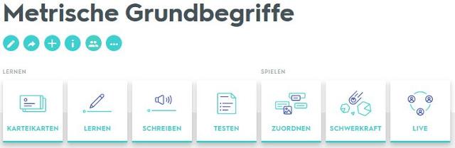 Quizlets für den Deutschunterricht – Web2 Unterricht