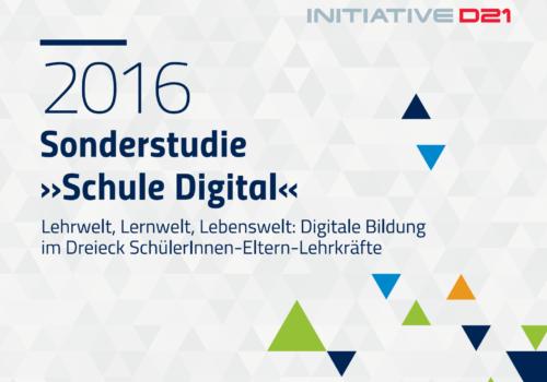 Sonderstudie Digital 2016 vom 16.11.16