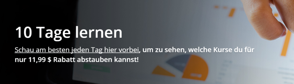 Aktion bei Udemy