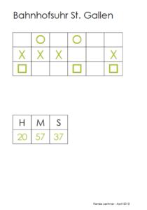 Lösung mit Excel erster Schritt
