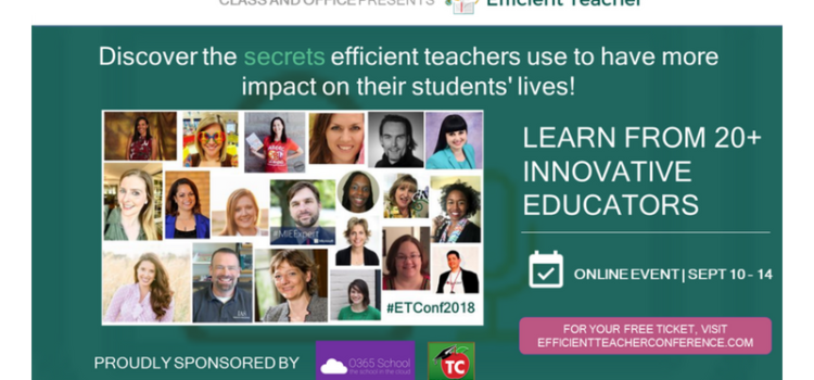 Wie ich Guest Speaker an der Efficient Teacher Conference 2018 wurde