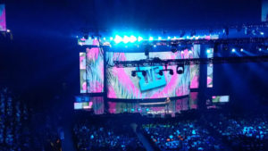 WE Day Vancouver Bühne