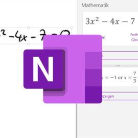 OneNote im Mathematik-Unterricht