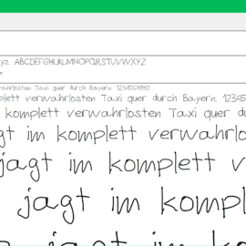 Personalisieren Sie Ihre Dokumente mit Ihrer eigenen Handschrift