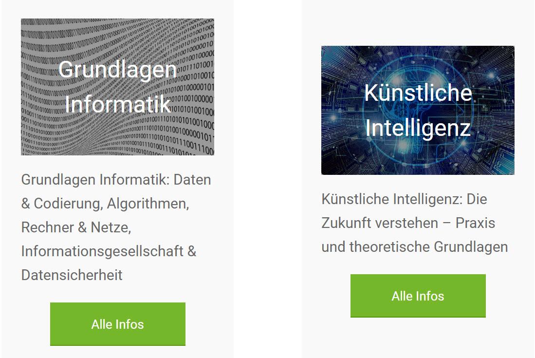 Grundlagen Informatik und künstliche Intelliegenz