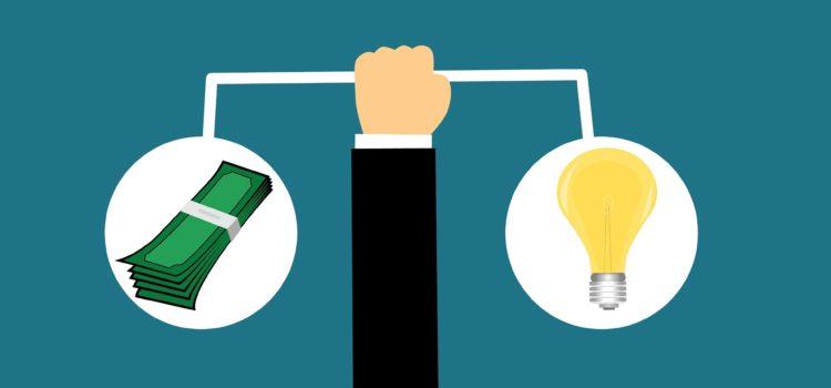 Geld und Idee