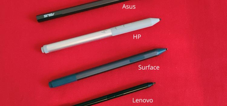Arbeiten mit Stift in der Microsoft 365 Welt